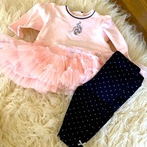 Ballerina shoes outfit 6m